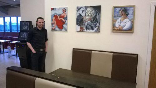 Roadking Truckstop Exhibition with Stuart Burne