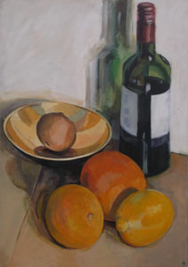 Still Life with Oranges and Lemon